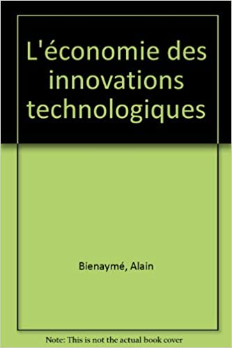 Livre L'économie des innovations technologiques pdf, epub