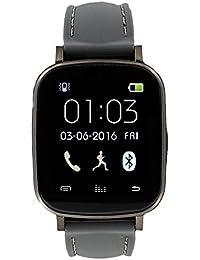 Eclock Reloj Digital para Unisex Adultos de Cuarzo con Correa en Caucho EK-G5