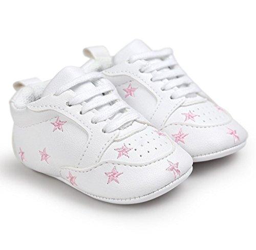 Covermason Kleinkind Baby Weiche Sohle Schuhe Turnschuhe Krippeschuhe Rosa