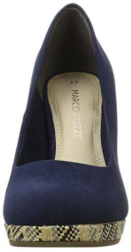 Marco Tozzi 22416, Escarpins femme Bleu (Navy 805)