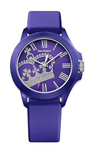 Juicy Couture Ladies Purple and Silver Watch 1901466