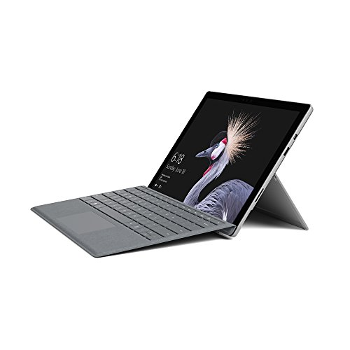 Microsoft Surface Pro 31,24 cm (12,3 Zoll) (Intel Core i5, 128GB SSD, 8GB RAM, Win 10 Pro) inkl. Surface Pro Signature Type Cover (Platin Grau)