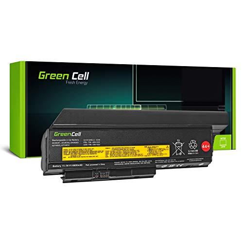 Green Cell® Extended Série 0A36306 0A36307 45N1022 45N1023 45N1026 45N1028 45N1029 45N1175 Batterie pour Lenovo ThinkPad X230 X230i Ordinateur PC Portable (9 Cellules 6600mAh 11.1V Noir)