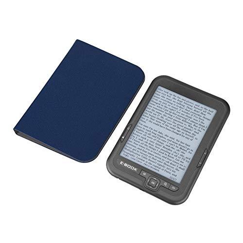 Zer one1 E-Book Reader 6 Pollici E-Reader Risoluzione 800x600 Display 300 DPI Blue Cover 16GB 8GB 4GB(Grigio 8G)