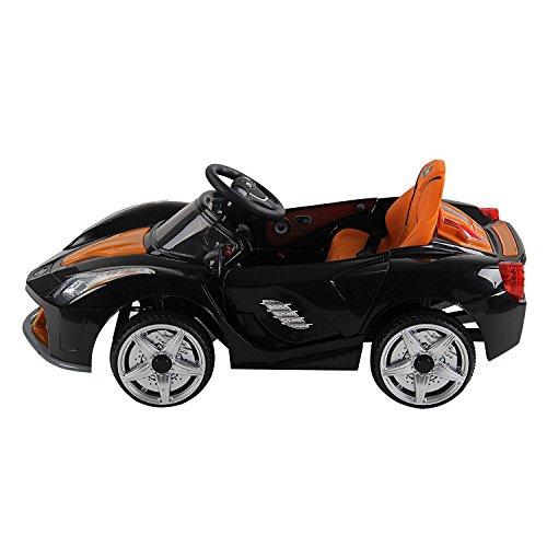 homcom 301-028BK - Elektroauto Spielzeug Sportwagen