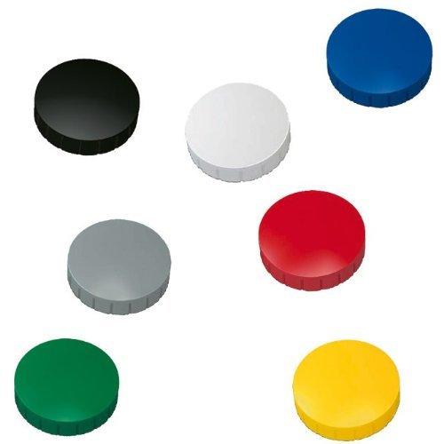 Idena 568019 - Whiteboard Alu-Rahmen, ca. 40 x 60 cm, mit Stiftablage (1, inkl. Magnete + Marker + Schwamm) -