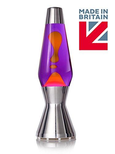 Lavalampe Astro das Original von Mathmos - Violett | Orange thumbnail