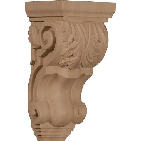 Ekena CORW04X05X10TAGM 4 1/2-Inch Width x 5-Inch Depth x 10-Inch Height Medium Traditional Acanthus Corbel -