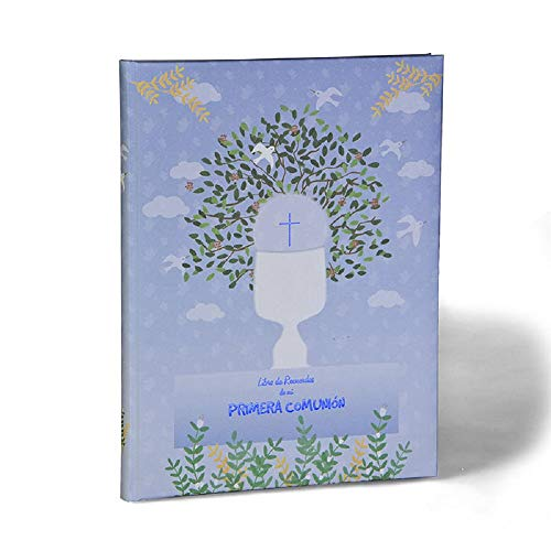 Libro Recuerdos Primera Comunión Caliz Azul Busquets