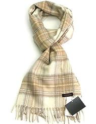 Lovarzi Schottenkaro Kaschmir Schal für Männer und Frauen - Hergestellt in Schottland