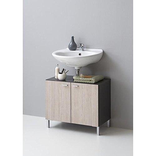 13Casa FMD Nepal 3, Mobiletto da bagno, 64 x 56,5 x 34,5 cm, colore ...