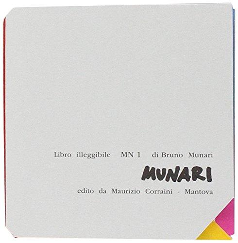 Libro illeggibile «MN 1» (Opera Munari) por Bruno Munari