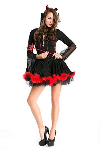 Gorgeous Explosion Modelle Halloween-Kostüme Teufel Vampir- Rollenspiel- Kleidung , #5