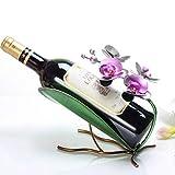 GQY Dekoratives Geschenk-Set Kreatives Personal Minimal Minimal Modern Modernes Trinkgeld-Fenster Del Gabinete Del Vino Decoración Adornos (Farbe : 2)