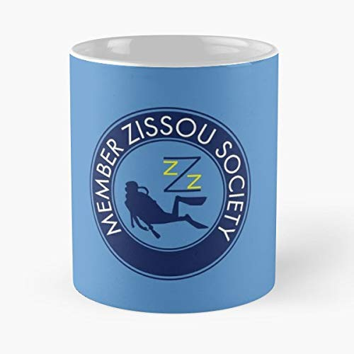 Steve Zissou Life Aquatic Movie Wes Anderson - Best Gift Mugs Bill Murray Fan Society Team Member Owen Wilson Best Personalized Gifts