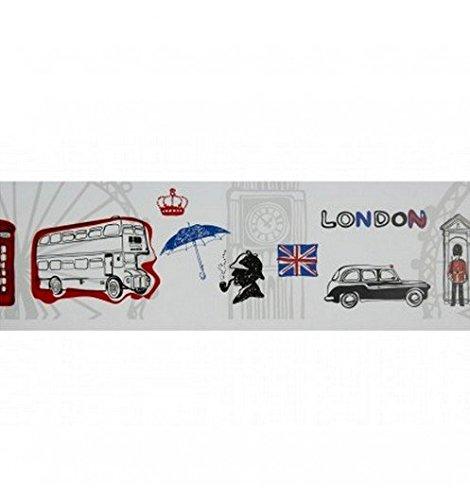 Caselio Selbstklebende Bordüre London casélio–selbstklebende Bordüre