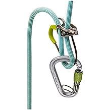 Edelrid Mega Jul Steel - Aseguradores escalada - gris/verde 2017