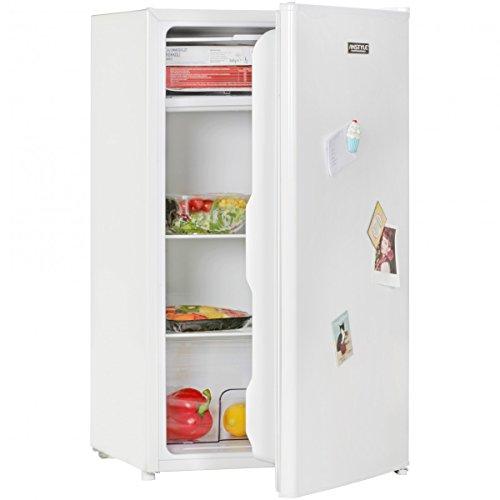AMSTYLE Minikühlschrank EEK A+ 95L Mit Gefrierfach Weiß Türanschlag  Wechselbar | Kühlschrank Freistehend Mit Kühl U0026 Gefrierfunktion | Minibar  Mit ...