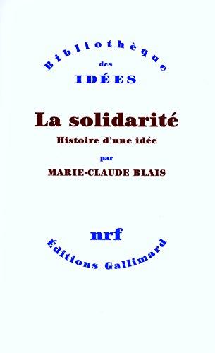 La solidarit: Histoire d'une ide