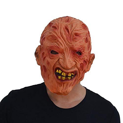 Kreativ Kostüm Zombie - SAILORMJY Maske Halloween, Cosplay Maske Kreative Lustige Requisiten Latex Maske Weihnachtsartikel Szenenlayout Horrorfilm Requisiten Zombie Maske Merchandise Zubehö