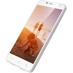 3G Telephone Portable Debloqué 5.5 Pouces, 1Go+8Go ROM, Android 7.0, Double Sim, Écran HD 1280 * 720, Double Caméra 8MP+5MP, Batterie 2970mAh, Wieppo S6 Lite Unlocked Telephone Pas Cher (Blanc)