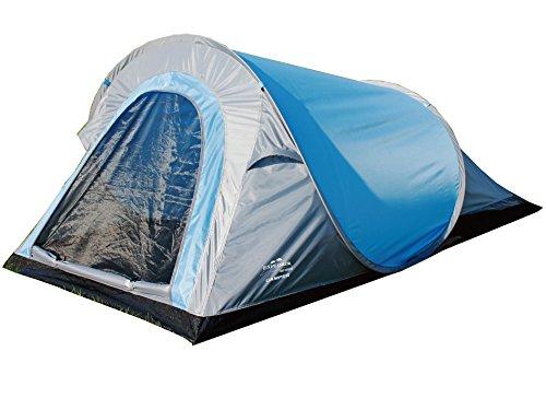 EXPLORER Zelt Pop-up-Zelt Camper **in Sekunden aufgebaut!** 220x120x90/60cm 2 Personen 1000mm Wassersäule Pop up Funktion Outdoor Wandern Familie Camping (Pop-up-camper-ausrüstung)