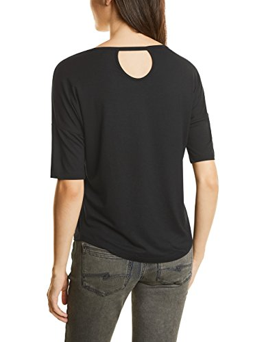 Street One Damen T-Shirt Schwarz (Black 30001)