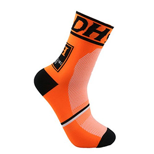 Profesional Ciclismo Transpirable Que Absorbe Deporte Bicicletas Calcetines Hombre Mujer (2)