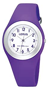 Lorus Unisex Analogue Watch with White Dial Analogue Display - R2305GX9