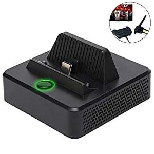Defway Switch Dock, Tragbarer Switch Ladeständer, Kompakter Switch zu HDMI Adapter, Switch Docking Station mit extra USB 3.0 Port, Ersatz Ladestation für Nintendo Switch mit USB C Power Input