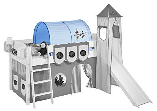 Lilokids Tunnel Dragons Blau - für Hochbett, Spielbett und Etagenbett