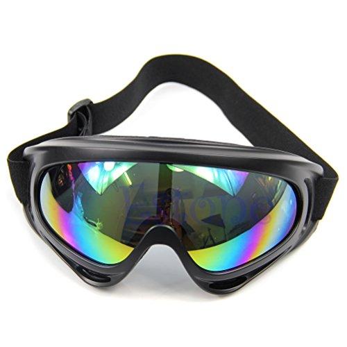 Sonnenbrille, Glas, staubdicht, für Snowboard merhfarbig