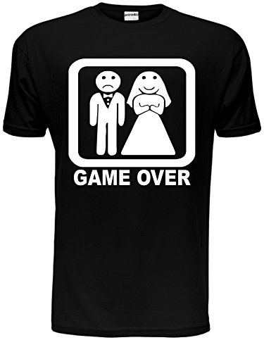 Game Over Funny Stag Do Mens T-Shirt