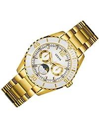 Guess Damen-Armbanduhr Chronograph Quarz Edelstahl W0565L2