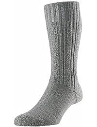 SUB ZERO Merino Wool Blend Cushioned Thermal Warm Insulated Winter Mountain Walking Boot Socks Grey Marl 1 Pair