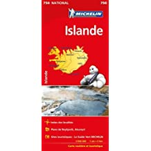 Carte Islande Michelin