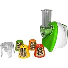 Gio 'style G 076Coupe Légumes Slicer 150W Hachoir Râpe à légumes robot de cuisine avec 5embouts