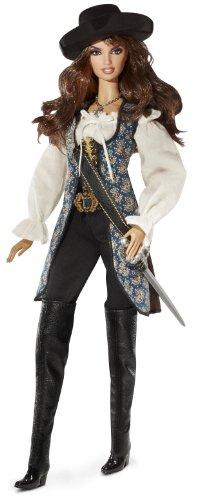 Mattel T7655 - Barbie Collector Fluch der Karibik Penelope Cruz/Angelica Malon, (Karibik Der Angelica Fluch)