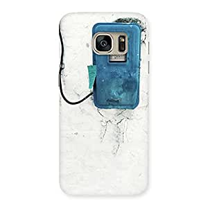 NEO WORLD Premium Electric Meter Back Case Cover for Galaxy S7