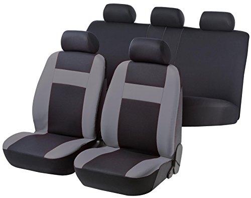 rmg-distribuzione Coprisedili per Duster Versione (2018 - in Poi) compatibili con sedili con airbag, bracciolo Laterale, sedili Posteriori sdoppiabili R16S0146
