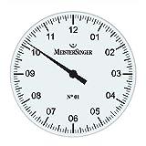 MeisterSinger MeisterSinger No. 01 EIN-Zeiger Tisch- und Wanduhr WU18