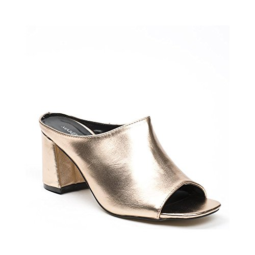 Ideal Shoes ,  Infradito donna Champagne