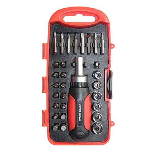 30 in 1 Schraubendreher-Kit Reparatur Maintenance Tool-Set für Haushaltsgeräte Digital-Schraubendreher-Bits Anzug Kleine Flat-panel-display