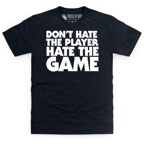 Hate The Game T-Shirt, Herren Schwarz