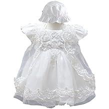 BabyPreg Niñas bebés Bautizo Vestido de bautismo Cumplea?os Vestido de Fiesta poliéster algodón