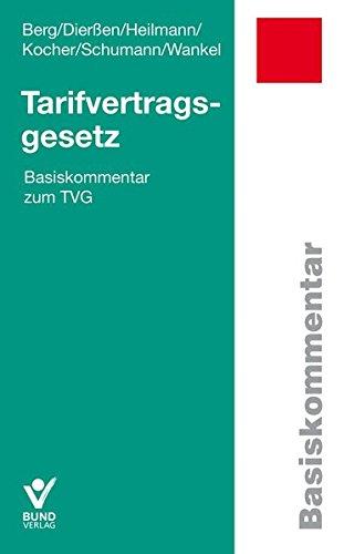 Tarifvertragsgesetz: Basiskommentar zum TVG