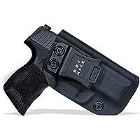 B.B.F Make IWB Tactical KYDEX Gun Holster Custom Fits: Sig Sauer P365 Funda de Transporte Pistol Case Inside Concealed Carry Holster Guns Accessories (Black, Left Hand)