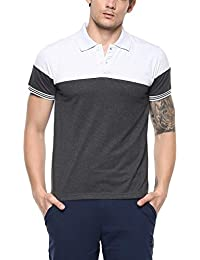[Sponsored]American Crew Men's Color Block Polo T Shirt - B076PMCXL5