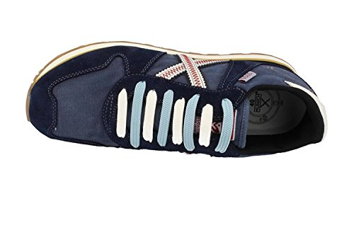 Munich Massana 8620122, Chaussures de Gymnastique Mixte Adulte Bleu