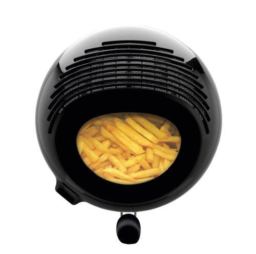 Moulinex AF 133D Fritteuse Uno M / 1600 Watt / wärmeisoliert / 1 kg Fassungsvermögen, edelstahl-schwarz - 3